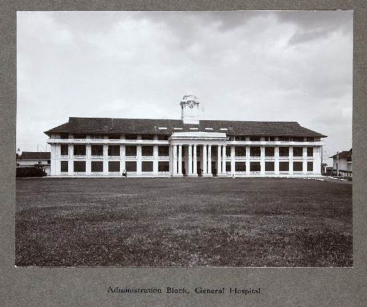 SINGAPORE GENERAL HOSPITAL ADMINISTRATION BLOCK, 1926