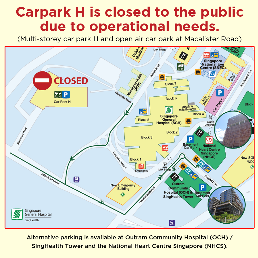 Carpark H Closure