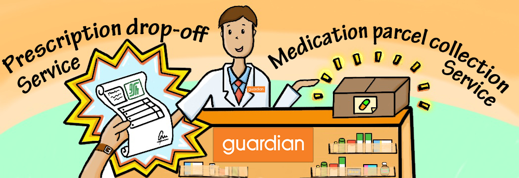 Sign-up for Medication Delivery Service at Guardian