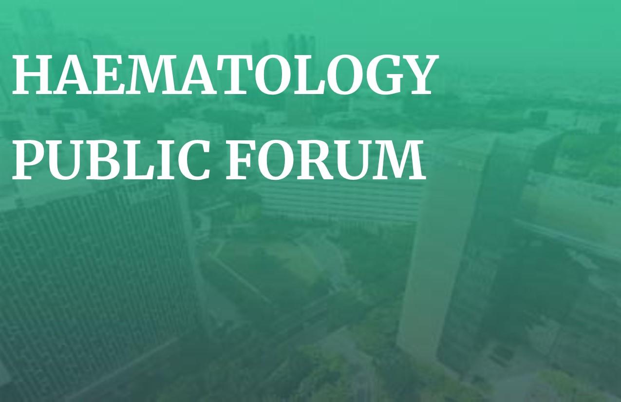 Haematology Public Forum