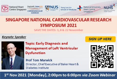 Singapore National Cardiovascular Research Symposium