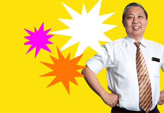 It's Professor Fong-tastic!