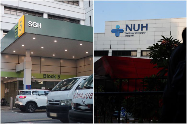 ​SGH was ranked 8th in the survey, with the NUH in 31st place.PHOTOS ST FILE, KELVIN CHNG