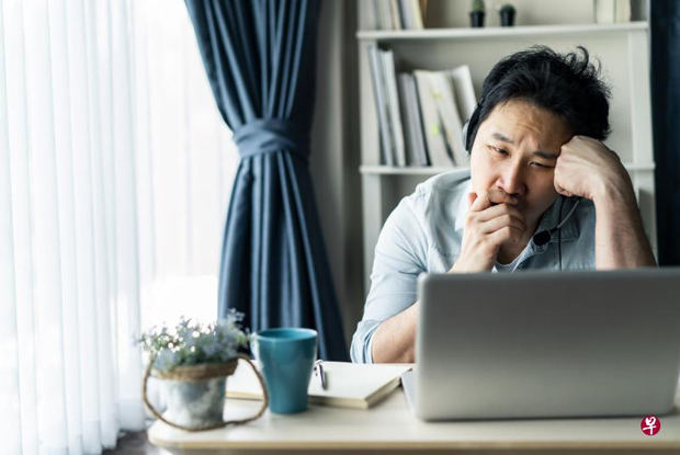 居家办公必须工作与休闲平衡,若混淆不清,更容易产生抗疫疲劳症。 (iStock图片)