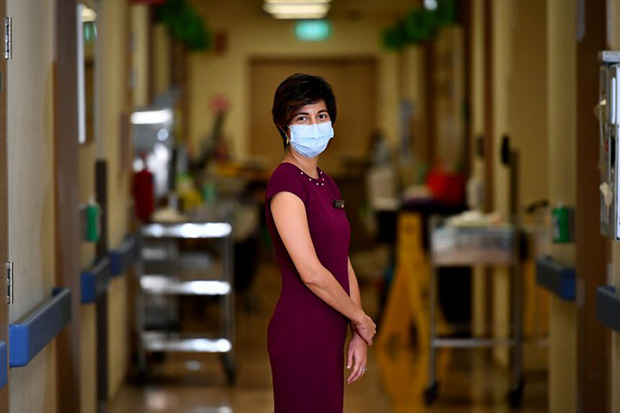Dr Shirin Kalimuddin is a consultant with the Department of Infectious Diseases at Singapore General Hospital.  ST PHOTO LIM YAOHUI