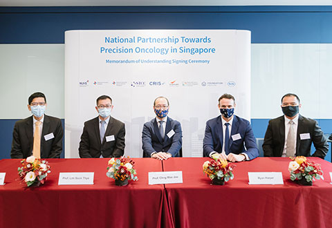 New personalised healthcare partnership formed to improve outcomes for people with cancer in Singapore