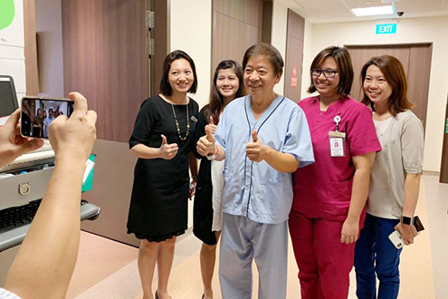 Khaw Boon Wan leaves hospital one week after surgery