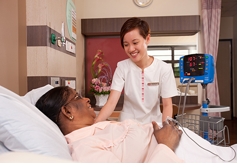 Getting on the right track (Singapore Health - Nursing)