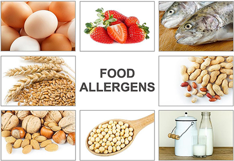 Food allergies are not to be sniffed at