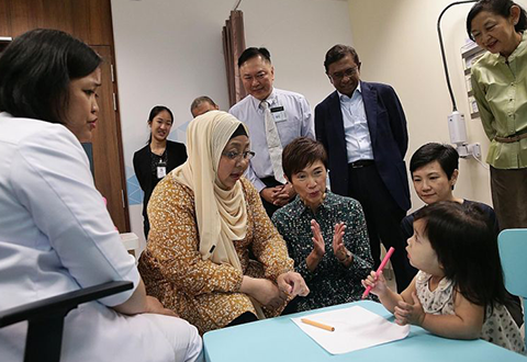 Hub offers services for new mums, infants