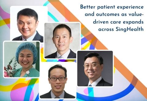 Better patient experience and outcomes as value-driven care expands across SingHealth