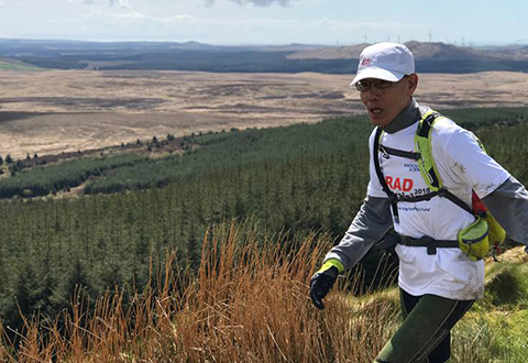 ​Renowned ultra-marathoner races for Radiological Sciences